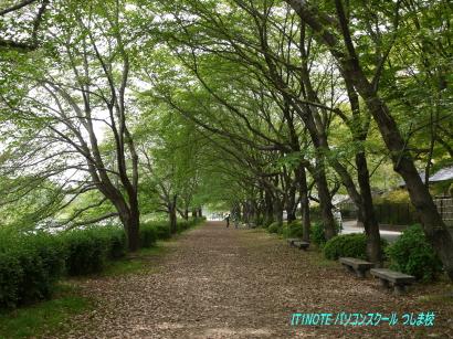 後楽園遊歩道1