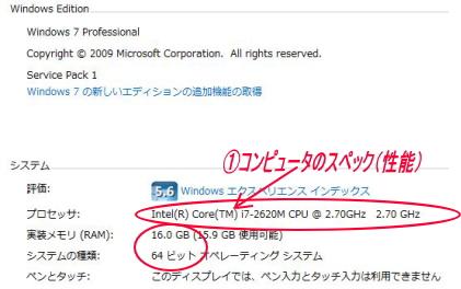 CPU性能画面