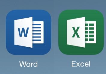 iPadWordExcel