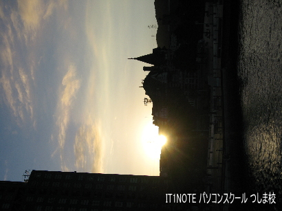 朝日の門司港1