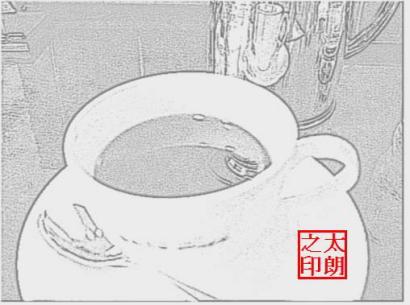 coffe墨絵2