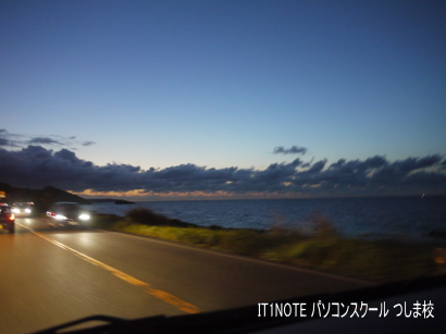 鳥取9号線を走る2